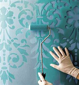 Design   Bathroom on Free Printable Stencils   Wall Stencils For Painting